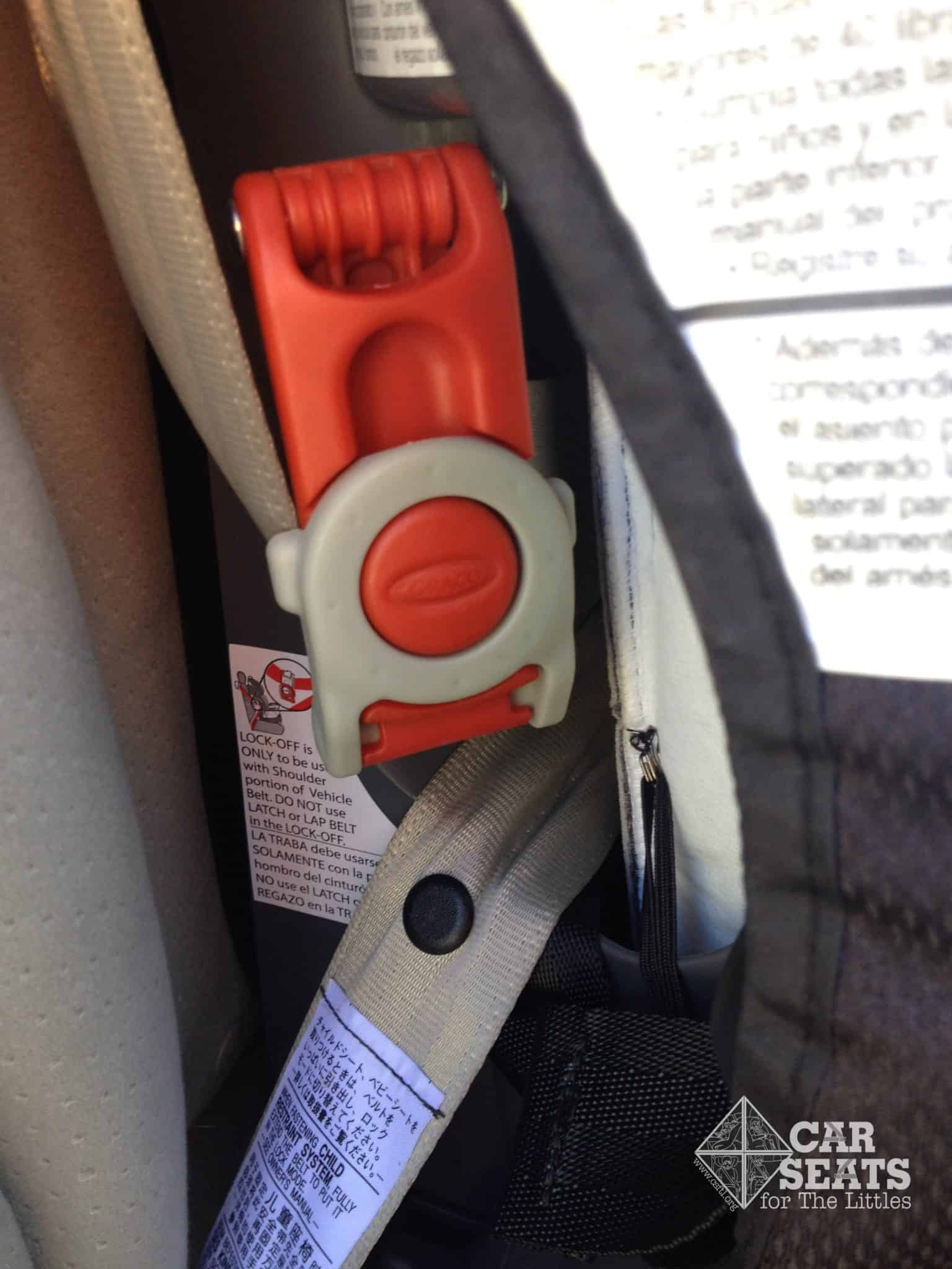 infa secure car seat installation instructions