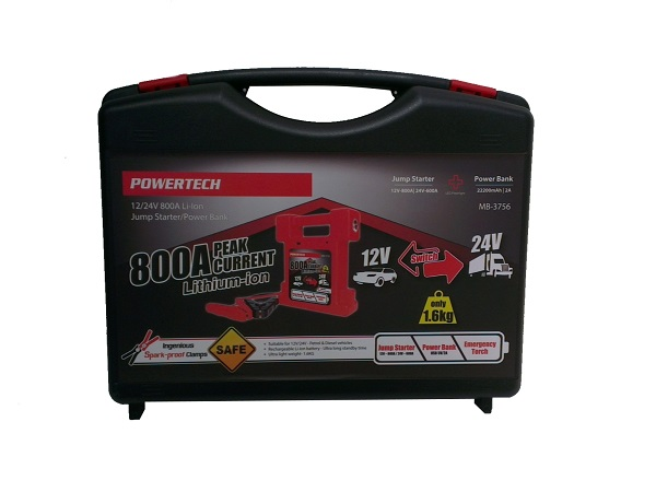 powertech jump starter instructions