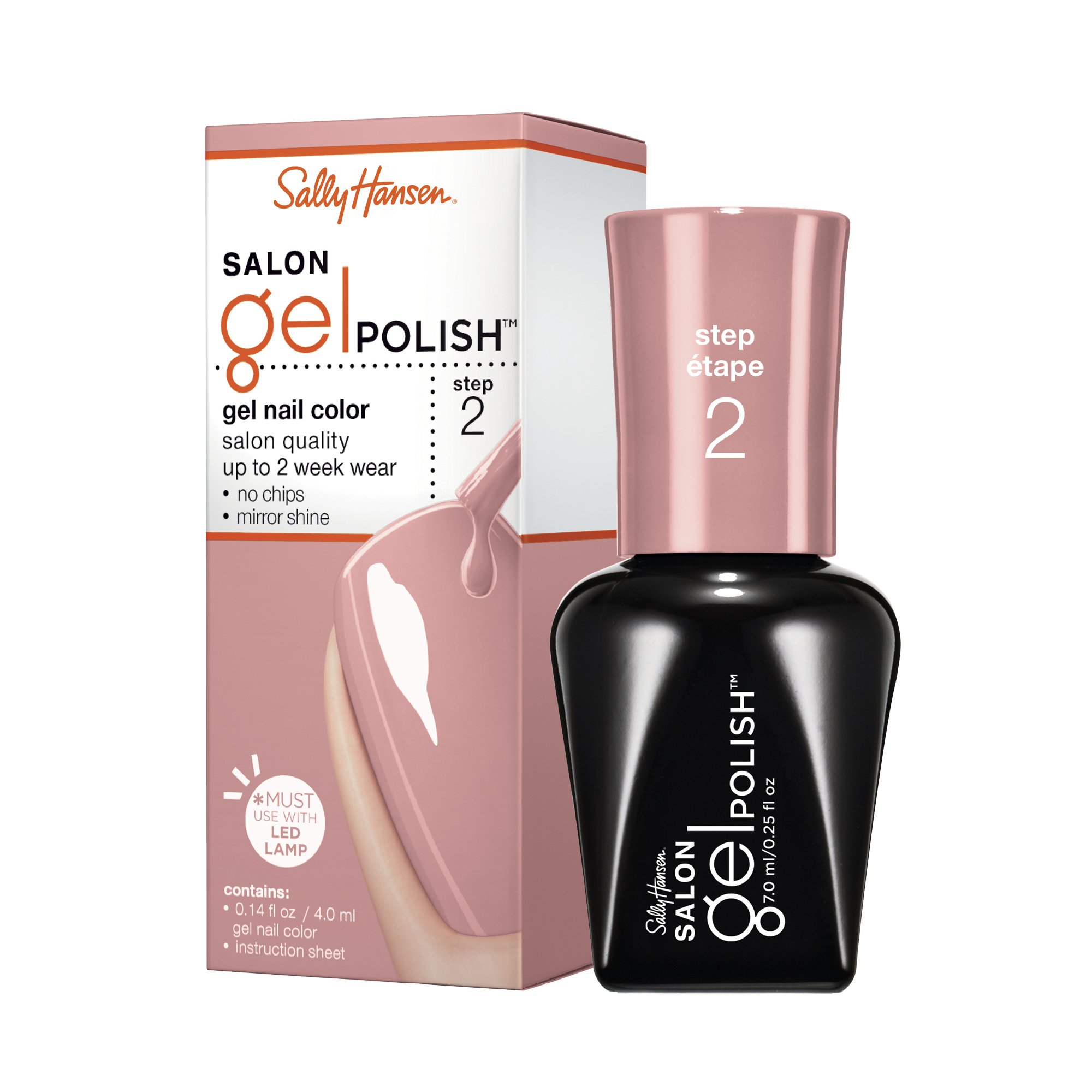 sally hansen salon gel polish starter kit instructions