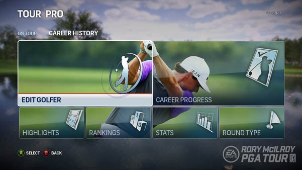 pga tour ps4 instructions