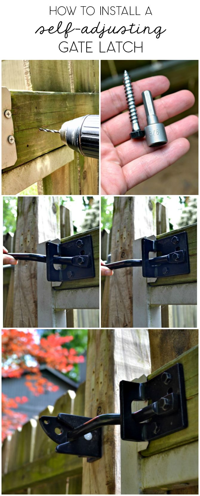 thumb latch installation instructions