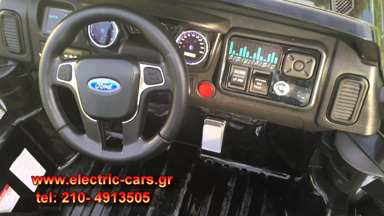 ford ranger ride on car instructions
