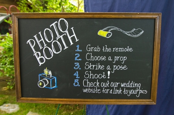 photo me booth instructions