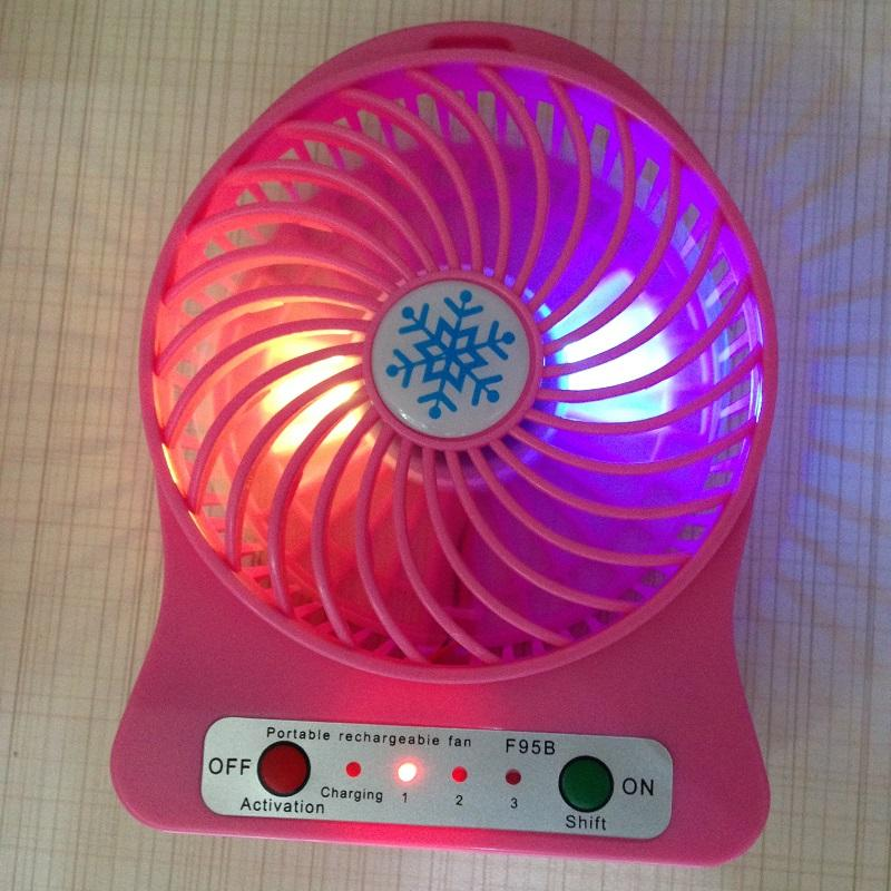 how to make a hand held led fan instructibles