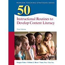 buy 50 instructional routines to develop content literacy 3rd edition