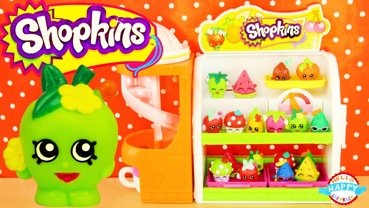 shopkins fruit and veg stand instructions