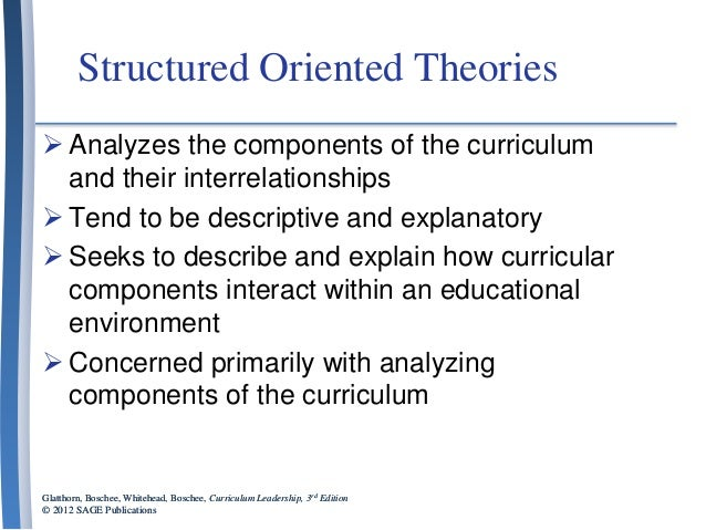 chapter 9 curriculum and instructional design
