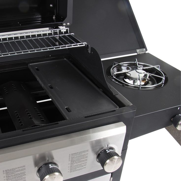 dyna glo 2 burner grill with side burner instructions