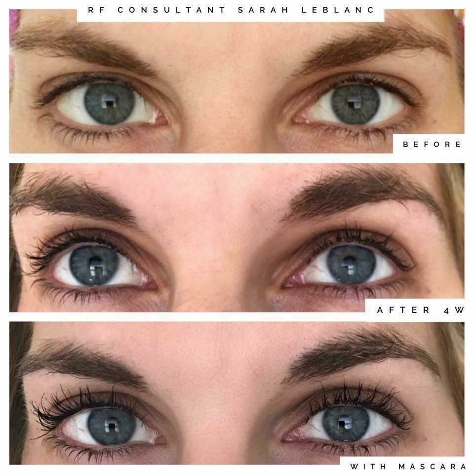rodan and fields eyelash serum instructions