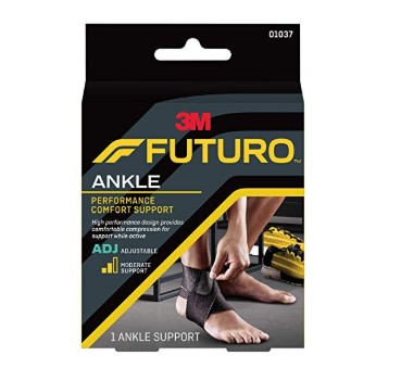 futuro wrap around ankle support instructions