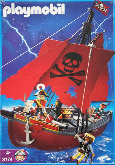 playmobil pirate ship 3053 instructions